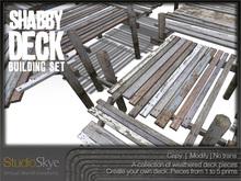 Shabby Deck Set from Studio Skye - Beach Deck and Pier set