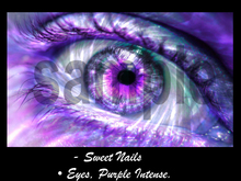 Eyes Purple Intense