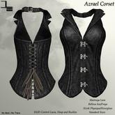 DE Designs - Azrael Corset - Black
