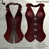 DE Designs - Azrael Corset - Red