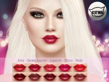 Arte - Catwa Applier - Lipstick - Shine - Reds