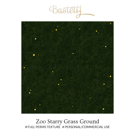 Bastet H > Surfaces > Zoo Starry Grass Ground (texture)