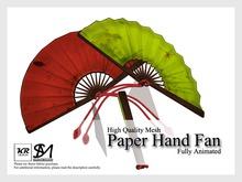 KR Design - Paper Hand Fan (Akuma)