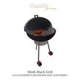 Bastet H > Mesh Black Grill