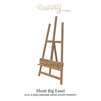 bastnut > Mesh Big Easel