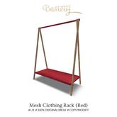 Bastet H > Mesh Clothing Rack (Red)