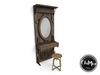 ChiMia:: Rustic Door Vanity (dark wood)
