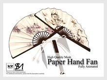 KR Design - Paper Hand Fan (Blossom)