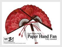 KR Design - Paper Hand Fan (Kimono)