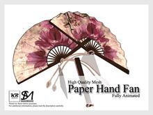 KR Design - Paper Hand Fan (Wildness)