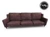ChiMia:: Threadbare Leather Sofa