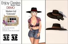 """Western hat """"Colorado"""" DEMO"""