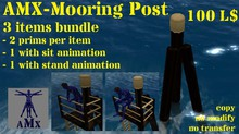 AMX-Mooring post bundle (copy)