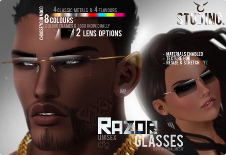 [STUD INC.] - Razor Glasses