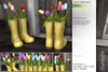 Sway's [Hana] Tulips in Rubber boots