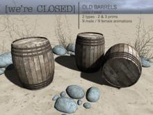 [we're CLOSED] old barrels