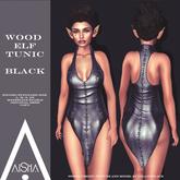 .AiShA. Wood Elf Tunic Black