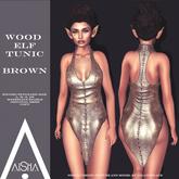 .AiShA. Wood Elf Tunic Brown