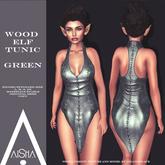 .AiShA. Wood Elf Tunic Green