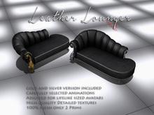 VervE Leather Lounger black