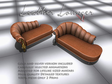 VervE Leather Lounger brown