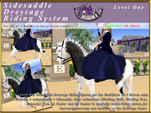 *E* Level One RH Sidesaddle Dressage Riding System [BOXED]