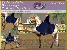 *E* Level Two RH Sidesaddle Dressage Riding System [BOXED]