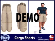 Dabble Dooya Mens Slink Cargo Shorts DEMOS