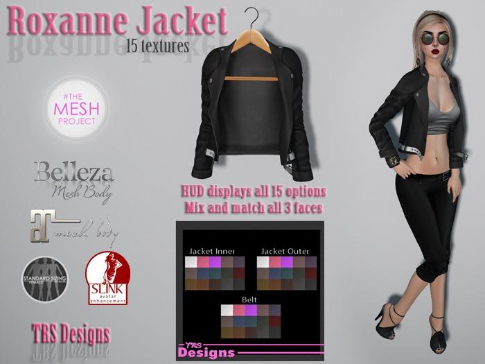 Roxanne Jacket With Hud
