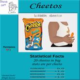 Cherub Care bag of cheetos