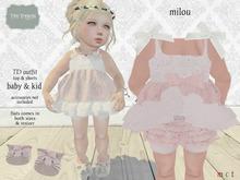 {T.T}Milou TD outfit pink HUD Auto-unpacker