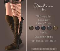 {TWS} - Dorlein Boots [Brown] Maitreya, Classic Avatar