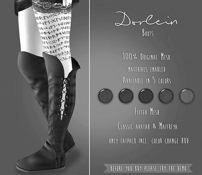 {TWS} - Dorlein Boots [DEMO]