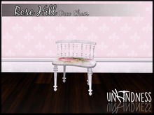 uK - Rose Hill Deco Chair White [Boxed]