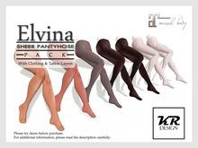 KR Design - Elvina Sheer Pantyhose Pack