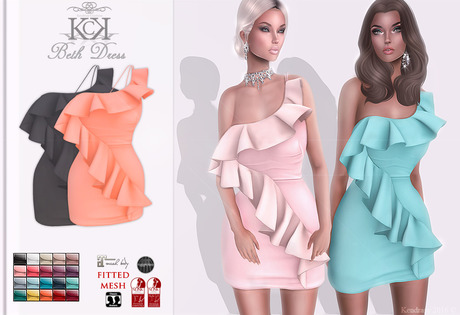 :::KC::: Beth Dress