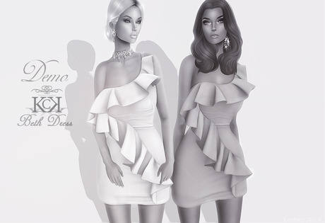 :::KC::: Beth Dress [DEMO]