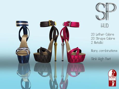 .:SP:. Annie Ankle Bracelet Heels (SLINK)