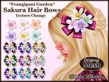 *FG* Sakura Hair Bows [Texture Change]