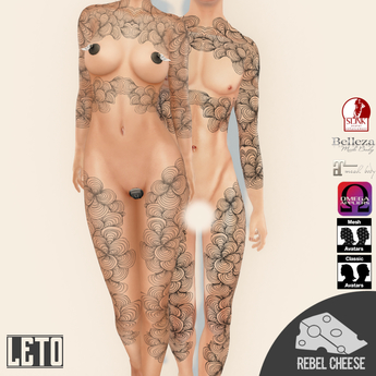 -RC- Leto Tattoo (With Appliers)