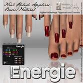 ..::Energie::.. Maitreya  -Toe/Finger Nails Appliers  Basic/Natural BAG