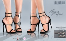R.icielli - ALYSSA High Heels HUD 20 colors Maitreya Belleza TMP Slink
