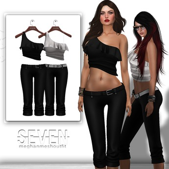 SEVEN - MEGHAN mesh OUTFIT