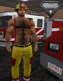 XK Sexy Fireman Yellow