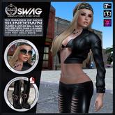 [RnR] Swag 50 Shades of Noir Sundown Outfit [BOX]