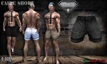 B BOS -Caine Short-Jeans Black-