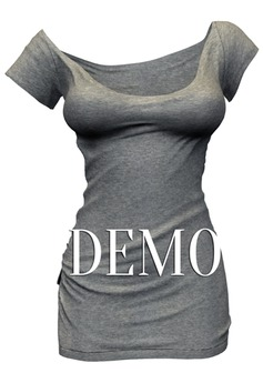*Just BECAUSE* Zoe T-Shirt Dress - DEMO - Maitreya,Belleza,Slink