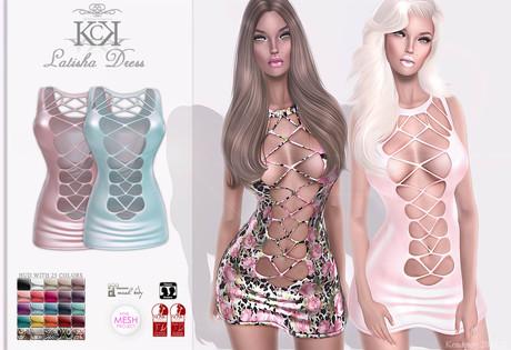 Second Life Marketplace Kc Latisha Dress