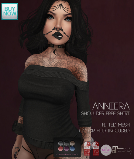 .:cheeky:. Anniera - shoulder free Shirt!