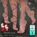 Shahrazad Ankle Jewels by Caverna Obscura - for Maitreya mesh body, Slink Physique body, Slink HIGH feet, Gaeline feet